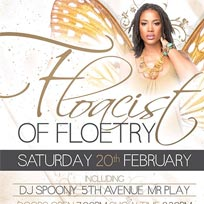 Floacist of Floetry London February 2016