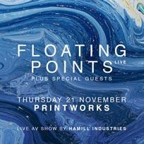 Floating Points at Printworks on Thursday 21st November 2019