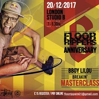 Bboy Lilou Masterclass at Studio B on Wednesday 20th December 2017