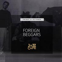 Foreign Beggars at Jazz Cafe on Friday 21st October 2016