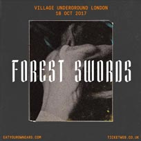 Forest Swords at Village Underground on Wednesday 18th October 2017