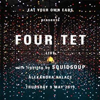Four Tet at Alexandra Palace on Thursday 9th May 2019