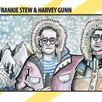 Frankie Stew & Harvey Gunn at Corsica Studios on Friday 19th October 2018