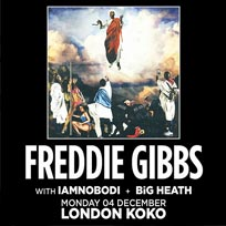 Freddie Gibbs at KOKO on Monday 4th December 2017