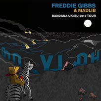 Freddie Gibbs & Madlib at The Forum on Saturday 26th October 2019