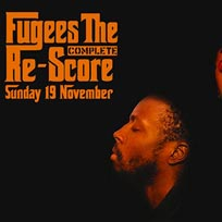 Fugees: The Complete Re-Score at Jazz Cafe on Sunday 19th November 2017