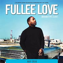 Fullee Love at Hoxton Bar & Kitchen on Wednesday 27th July 2016