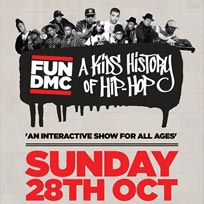 FUN DMC's Kid's History of Hip-Hop at Hoxton Square Bar & Kitchen on Sunday 28th October 2018