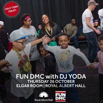 FUN DMC w/ DJ Yoda at Royal Albert Hall on Thursday 26th October 2017