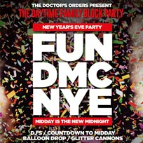 FUN DMC NYE at Juju's Bar and Stage on Sunday 31st December 2017