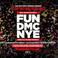 FUN DMC at Juju's Bar and Stage on Monday 31st December 2018
