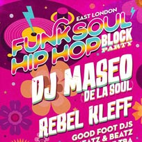 East London Funk & Soul Block Party at Oval Space on Friday 31st May 2019