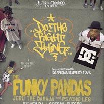 The Funky Pandas at Islington Academy on Thursday 29th June 2017