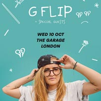 G-Flip at The Garage on Wednesday 10th October 2018