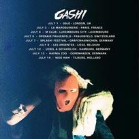 Gashi at Oslo Hackney on Sunday 1st July 2018