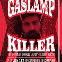 Gaslamp Killer at Rich Mix on Thursday 13th July 2017