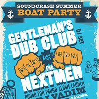Soundcrash Summer Boat Party at Temple Pier on Saturday 23rd June 2018