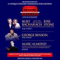 George Benson at Hammersmith Apollo on Thursday 18th July 2019
