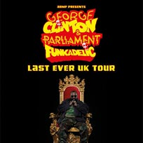 George Clinton & Parliament Funkadelic at The Roundhouse on Sunday 8th July 2018