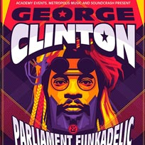 George Clinton and Parliament Funkadelic at The Forum on Saturday 13th May 2017