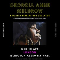 at Islington Assembly Hall on Wednesday 10th April 2019