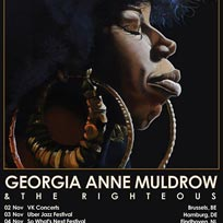 Georgia Anne Muldrow at Islington Assembly Hall on Wednesday 7th November 2018