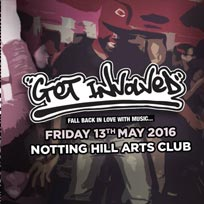 Get Involved at Notting Hill Arts Club on Friday 13th May 2016