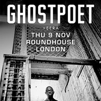Ghostpoet at The Roundhouse on Friday 10th November 2017