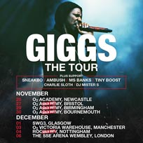Giggs at Wembley Arena on Friday 6th December 2019