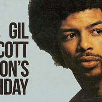 Gil Scott Heron's Birthday at Jazz Cafe on Saturday 31st March 2018