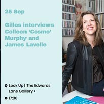 Gilles Peterson + James Lavelle at The Edwards Lane Gallery on Tuesday 25th September 2018