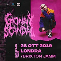 GionnyScandal at Brixton Jamm on Monday 28th October 2019