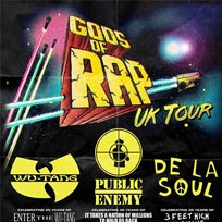 Gods of Rap at Wembley Arena on Friday 10th May 2019