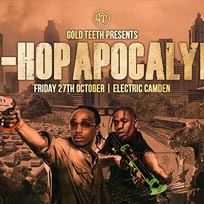 The Hip Hop Apocalypse at Electric Ballroom on Friday 27th October 2017