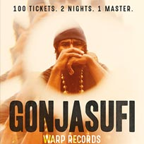 Gonjasufi at Archspace on Wednesday 10th May 2017
