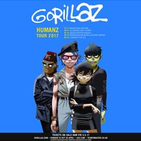 Gorillaz at The o2 on Monday 4th December 2017