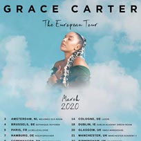 Grace Carter at Shepherd's Bush Empire on Wednesday 25th March 2020