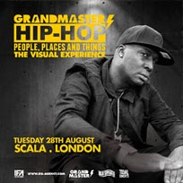 Grandmaster Flash at Scala on Tuesday 28th August 2018