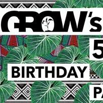 Grow's 5th Birthday at Grow Hackney on Saturday 6th July 2019