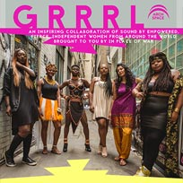 GRRRL at Archspace on Tuesday 10th April 2018