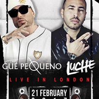 LUCHÈ & GUÈ Pequeno at Brixton Jamm on Tuesday 21st February 2017