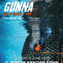 Gunna at The Forum on Sunday 9th June 2019