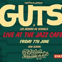 GUTS at Jazz Cafe on Friday 7th June 2019