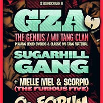 GZA at The Forum on Saturday 25th August 2018