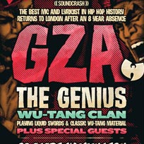 GZA at Islington Academy on Saturday 25th August 2018