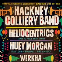 Hackney Colliery Band at Soundcrash on Friday 16th February 2018