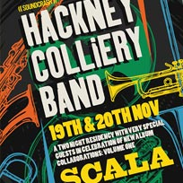 Hackney Colliery Band at Scala on Sunday 19th August 2018