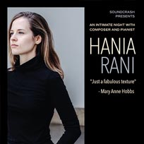 Hania Rani at St. Pancras Old Church on Thursday 9th May 2019