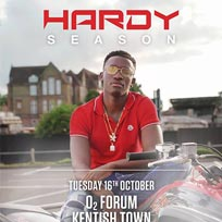 Hardy Caprio at The Forum on Tuesday 16th October 2018