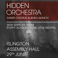 Hidden Orchestra at Islington Academy on Thursday 29th June 2017
